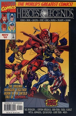 Marvel: Heroes & Legends Vol 2 1