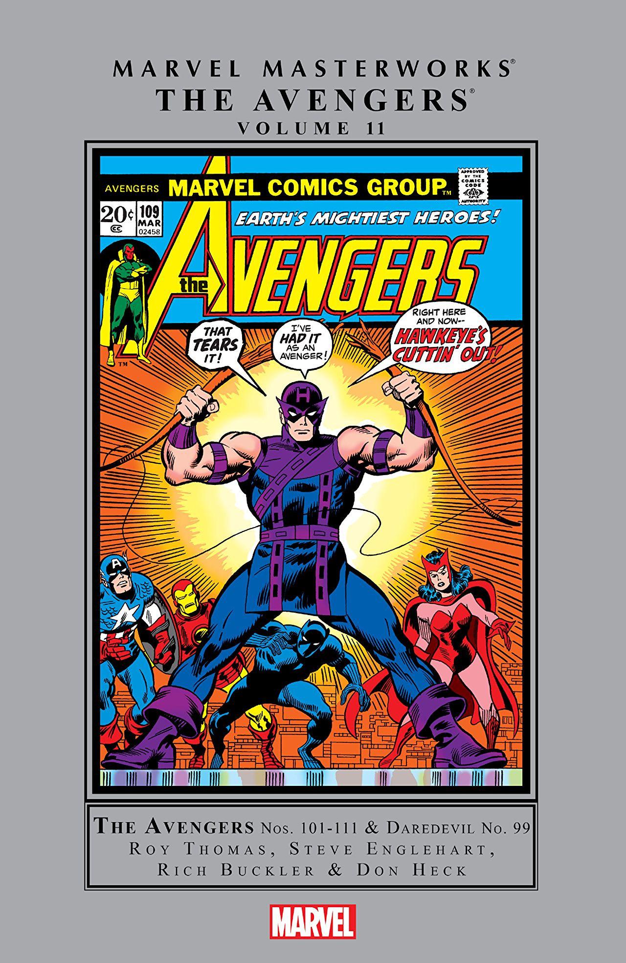 Marvel Masterworks: Avengers Vol 1 11