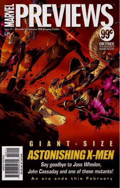 Marvel Previews Vol 1 52