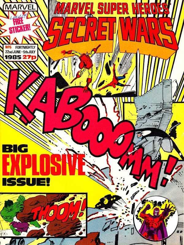 Marvel Super Heroes Secret Wars (UK) Vol 1 5
