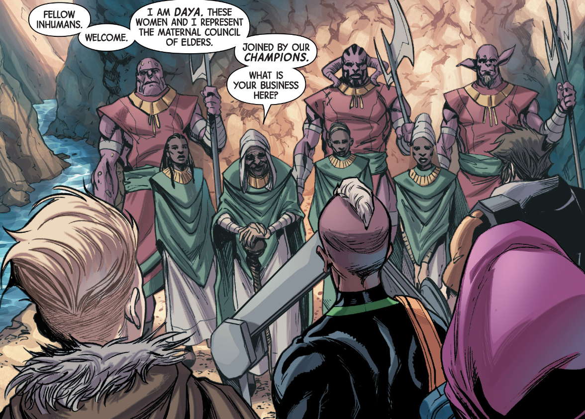 Maternal Council of Elders (Earth-616)