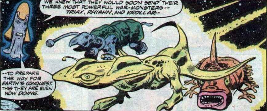 Mega-Monsters (Earth-616)/Gallery