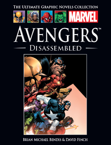 Official Marvel Graphic Novel Collection Vol 1 34