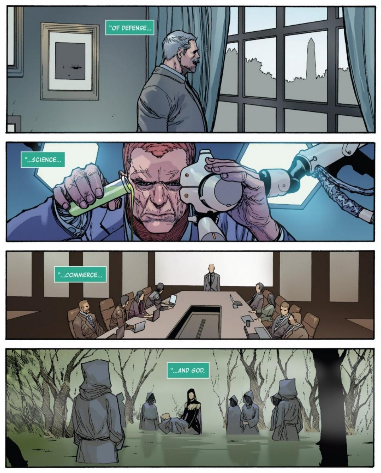 Power Elite (Earth-616)/Gallery