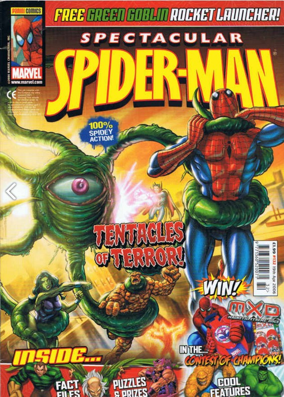 Spectacular Spider-Man (UK) Vol 1 132