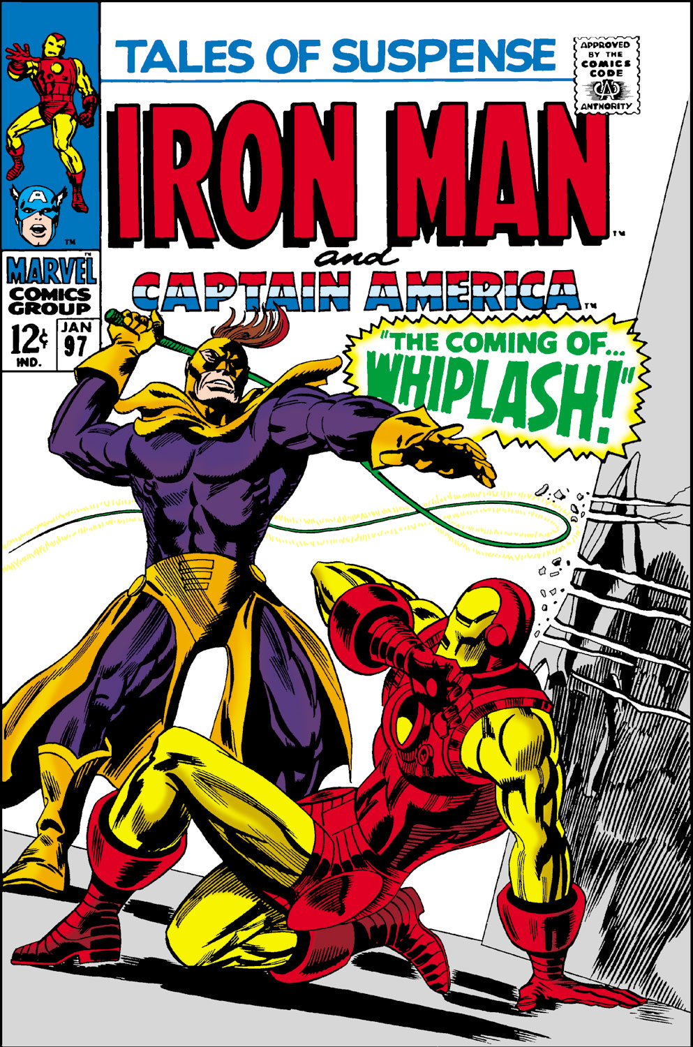 Tales of Suspense Vol 1 97