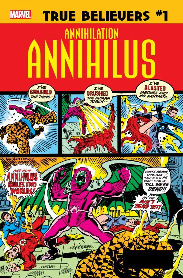 True Believers: Annihilation - Annihilus Vol 1 1
