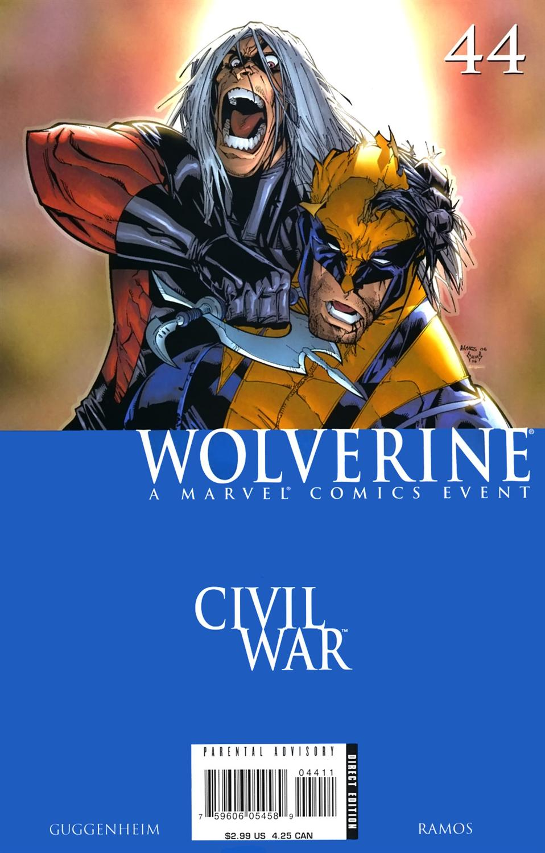 Wolverine Vol 3 44