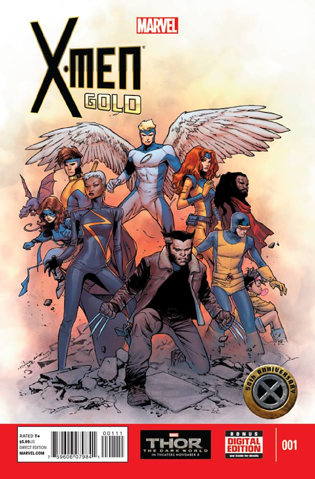 X-Men: Gold Vol 1 1