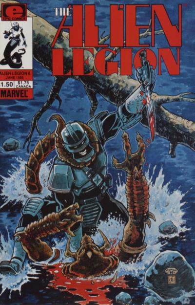 Alien Legion Vol 1 8