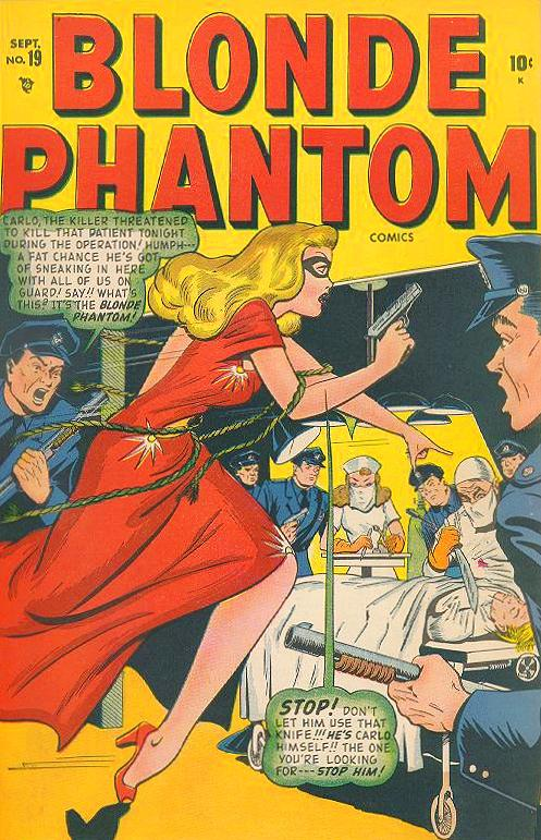 Blonde Phantom Comics Vol 1 19