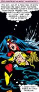 Carol Danvers (Earth-616) and Jessica Drew (Earth-616) from Avengers Annual Vol 1 10 001