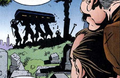 Cypress Hills Cemetery from Amazing Spider-Man Vol 1 425 001