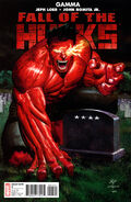 Fall of the Hulks Gamma Vol 1 1 Grave Variant