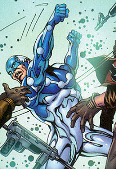 Gilbert Wiles (Earth-616) and Captain Universe (Earth-616) from Captain Universe Incredible Hulk Vol 1 1 001.jpg