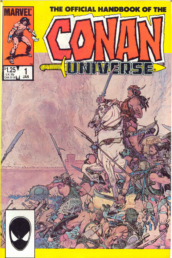 Handbook of the Conan Universe Vol 1