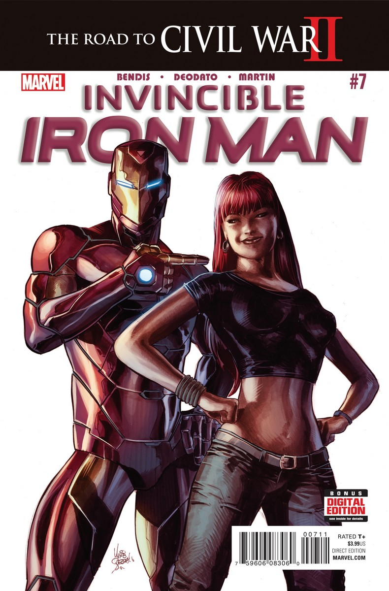 Invincible Iron Man Vol 3 7