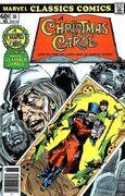 Marvel Classics Comics Series Featuring A Christmas Carol Vol 1 1