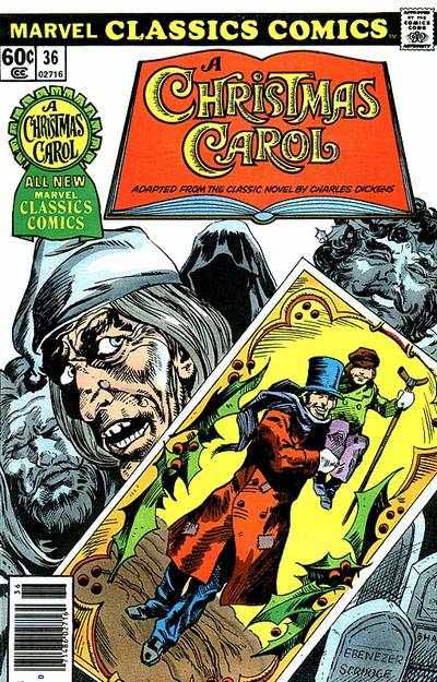Marvel Classics Comics Series Featuring A Christmas Carol Vol 1