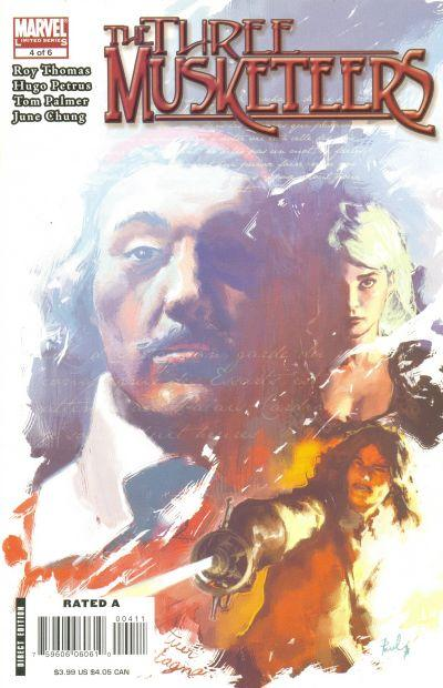Marvel Illustrated: The Three Musketeers Vol 1 4