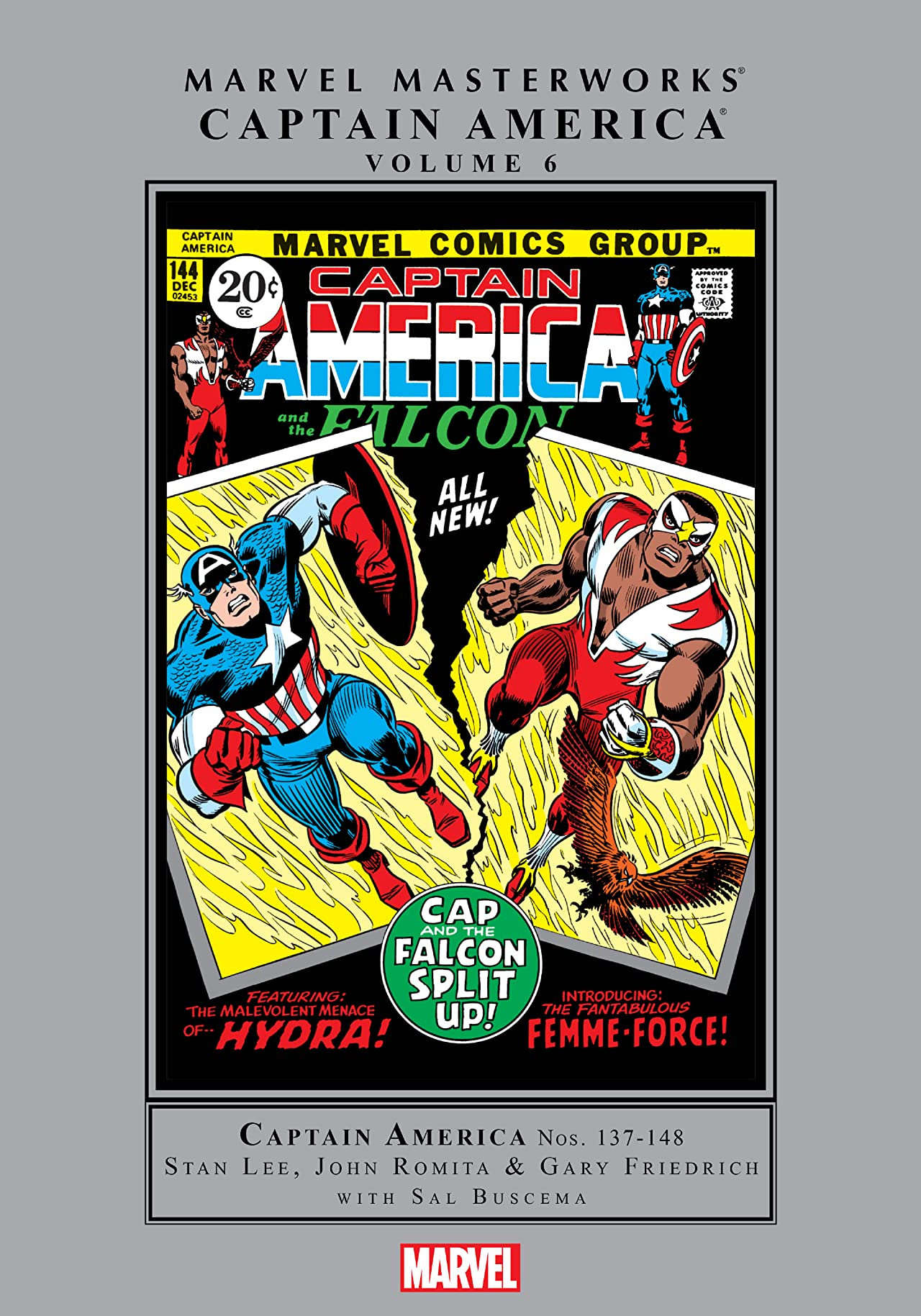 Marvel Masterworks: Captain America Vol 1 6