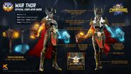 Marvel Realm of Champions War Thor Official Cosplayer Guide