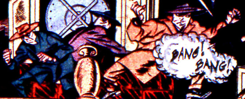 Masked Trio of Death (Earth-616)/Gallery