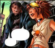 Miguel Legar (Earth-616) and Anya Corazon (Earth-616) from Amazing Fantasy Vol 2 6 0001
