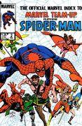 Official Marvel Index to Marvel Team-Up Vol 1 2