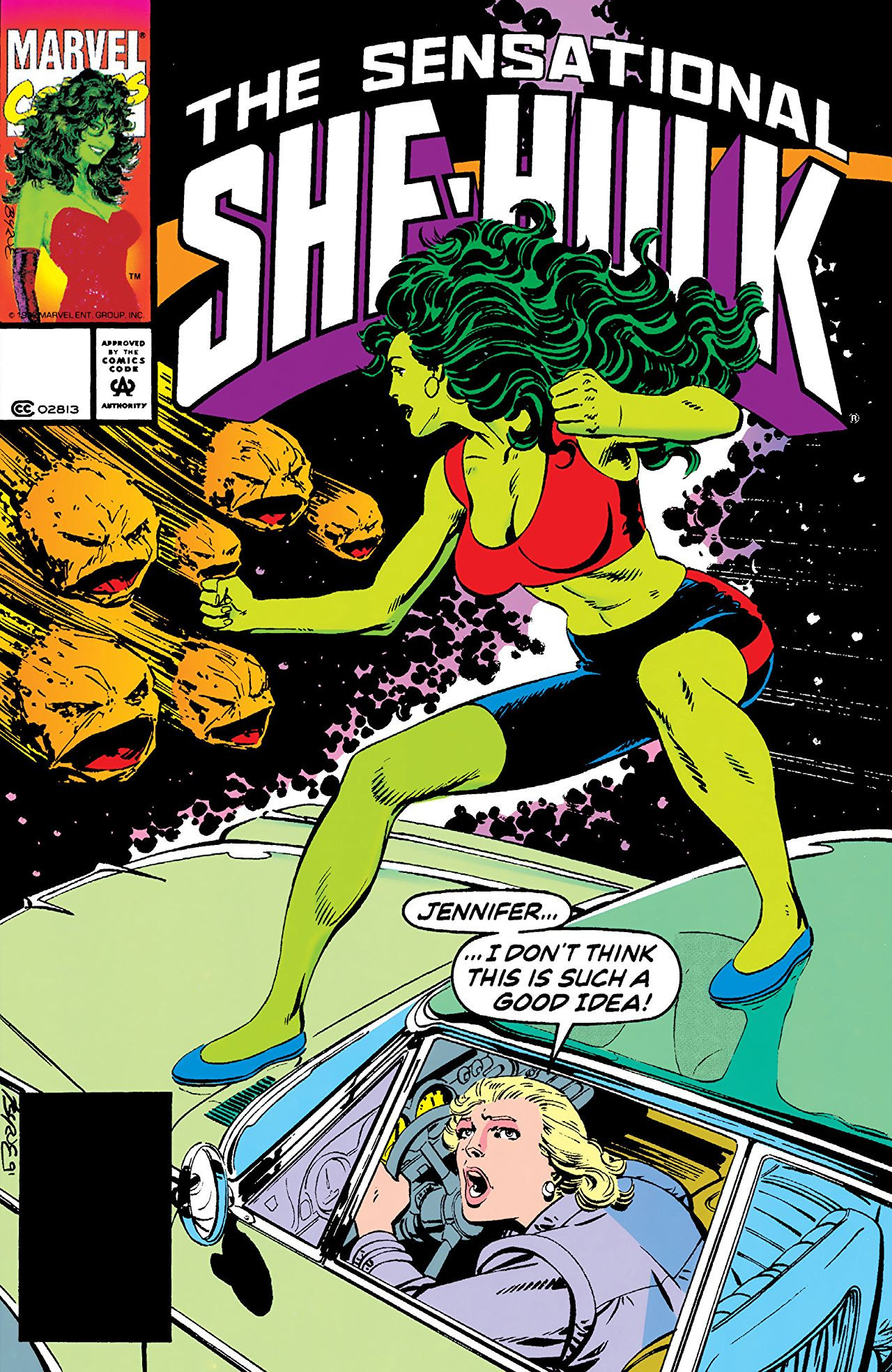 She-Hulk's Flying Car