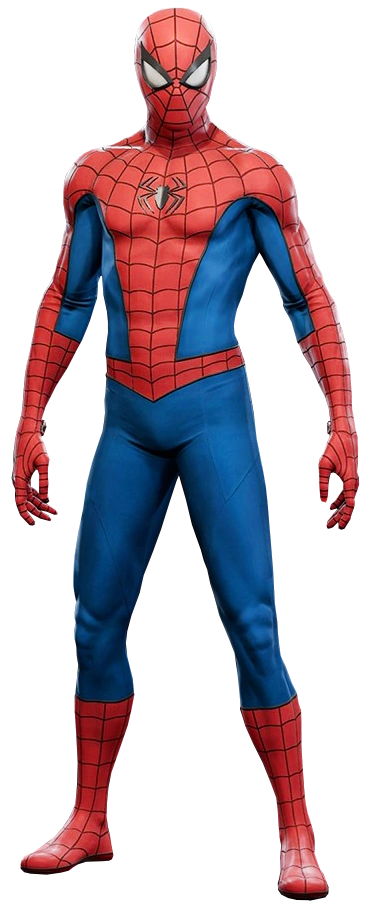 Spider-Man's Classic Suit (Repaired) from Marvel's Spider-Man (video game) 001.png