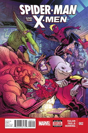 Spider-Man and the X-Men Vol 1 2.jpg