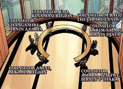 Wakandan Constitutional Council (Earth-616) from Black Panther Vol 6 16 001.jpg