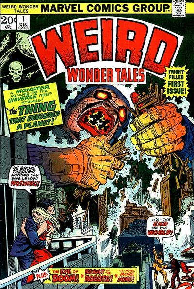 Weird Wonder Tales Vol 1