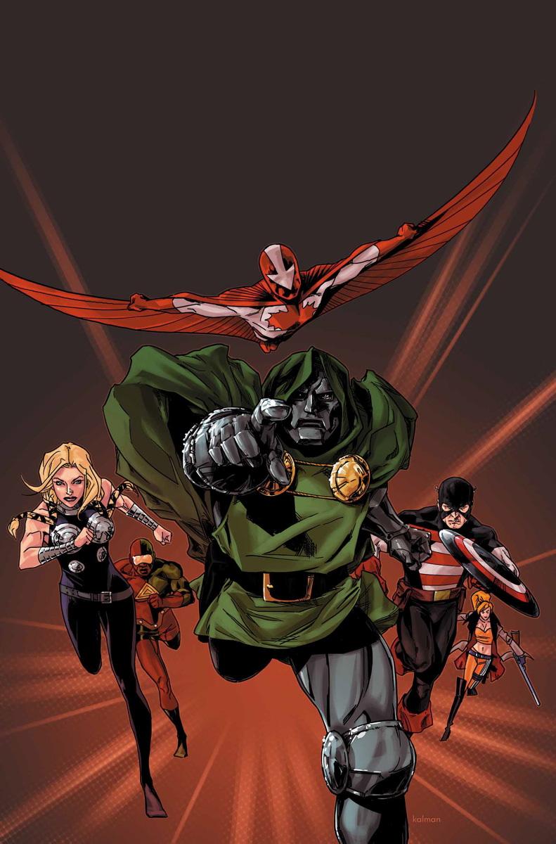 Avengers (Doctor Doom's) (Earth-616)/Gallery