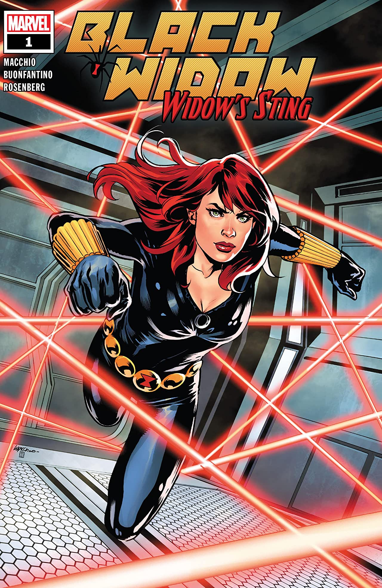 Black Widow: Widow's Sting Vol 1 1