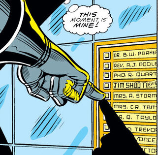 A not so subtle joke on Jim Shooter getting fired in Fantastic Four #318