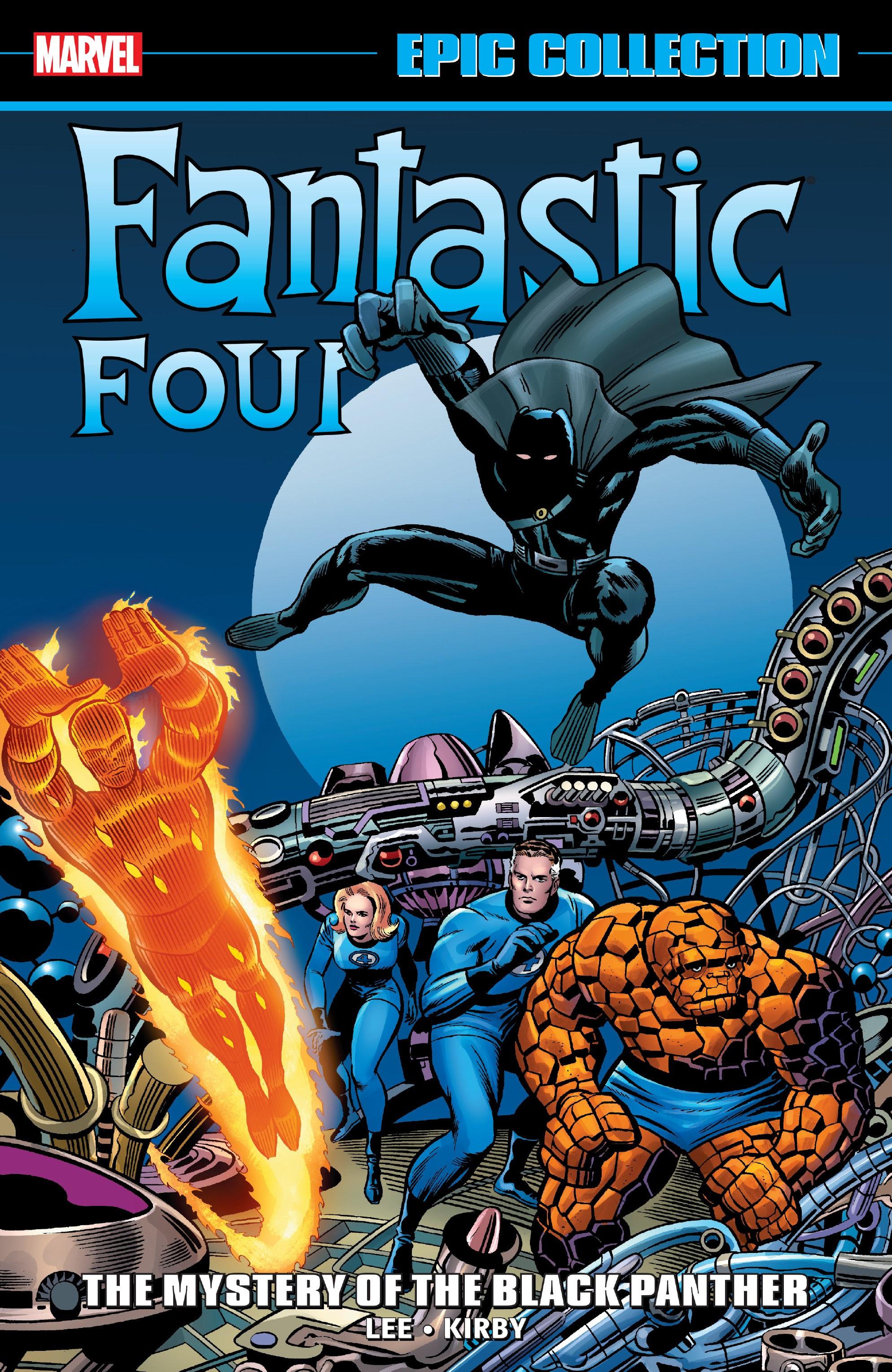 Epic Collection: Fantastic Four Vol 1 4