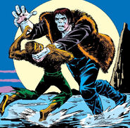 Frankenstein's Monster (Earth-616) and Jack Russell (Earth-616) from Giant-Size Werewolf Vol 1 2 0001