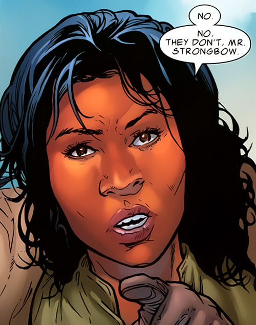 Glenda Sandoval (Earth-616)