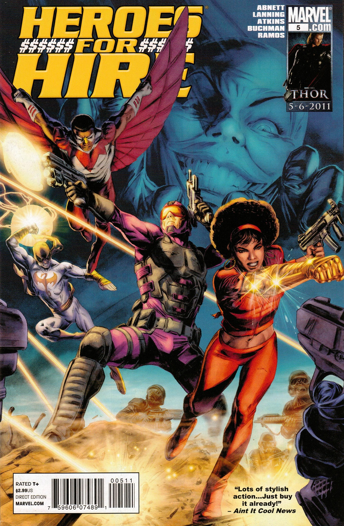 Heroes for Hire Vol 3 5