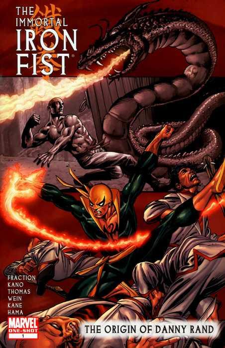 Immortal Iron Fist: The Origin of Danny Rand Vol 1 1
