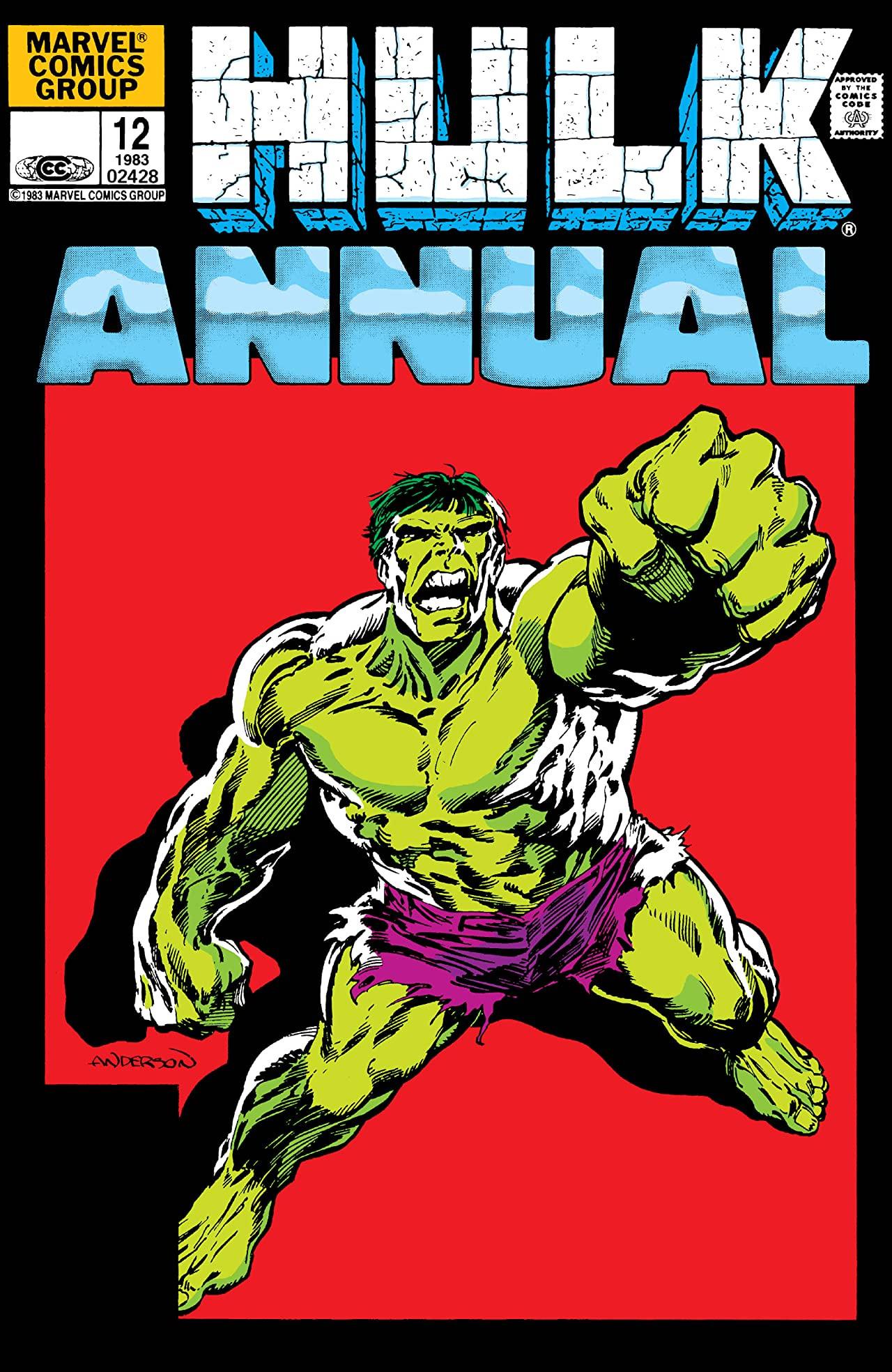 Incredible Hulk Annual Vol 1 12