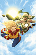 Life of Captain Marvel Vol 2 5 Andrews Variant Textless