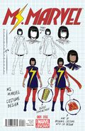 Ms. Marvel Vol 3 1 Design Variant