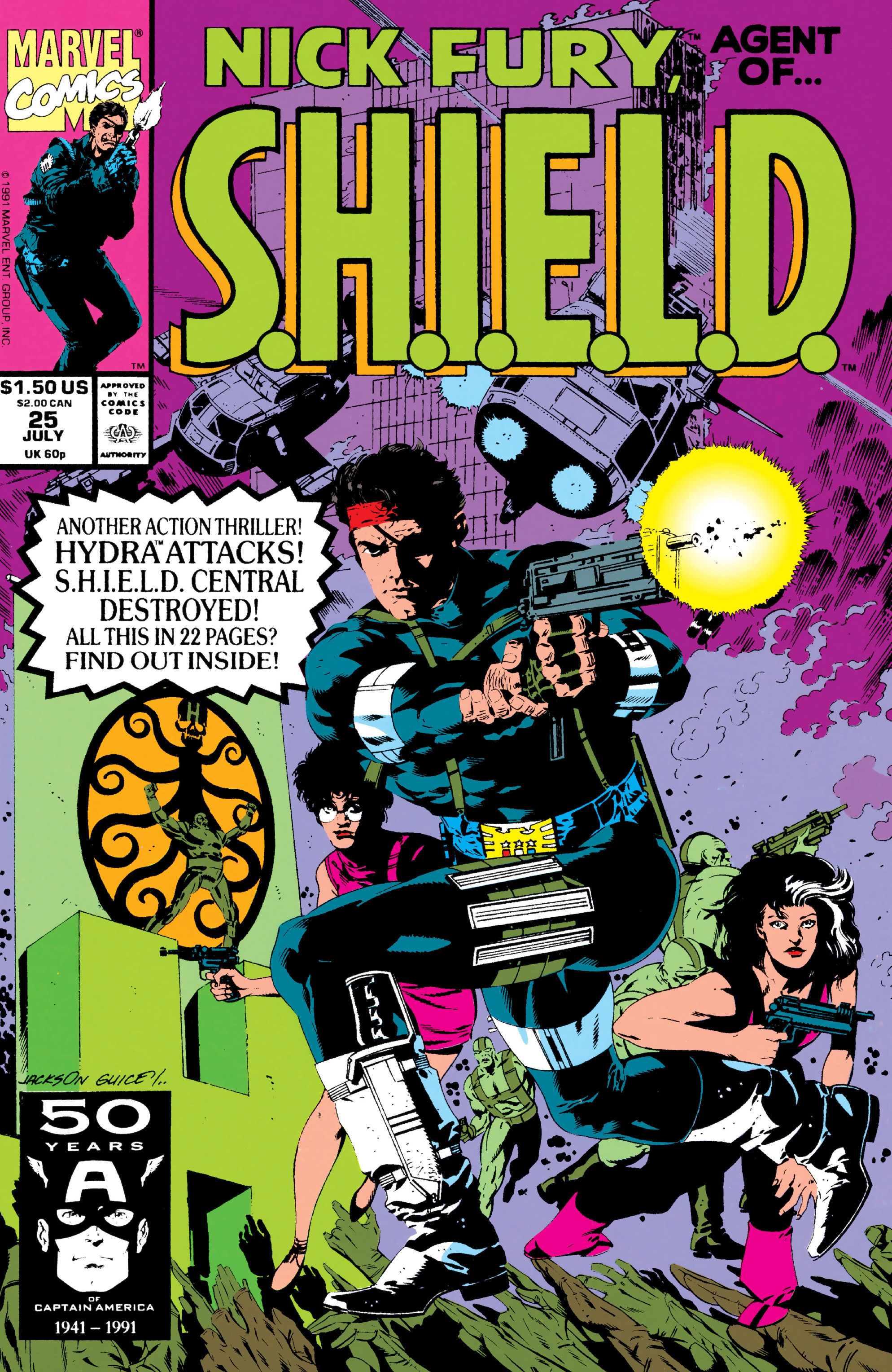 Nick Fury, Agent of S.H.I.E.L.D. Vol 3 25