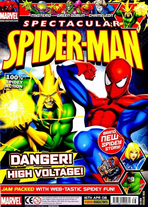 Spectacular Spider-Man (UK) Vol 1 166