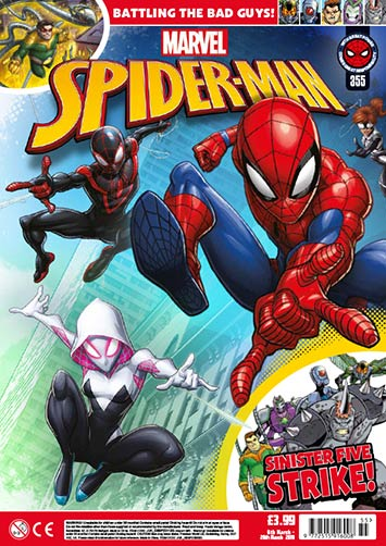 Spider-Man Magazine (UK) Vol 1 355