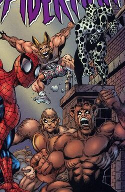 Spider-Man Revenge Squad (Earth-616) from Spectacular Spider-Man Vol 1 246 0001.jpg