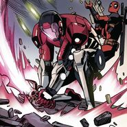 Wade Wilson (Loop) (Earth-616) from Deadpool & Cable Split Second Infinite Comic Vol 1 4 001
